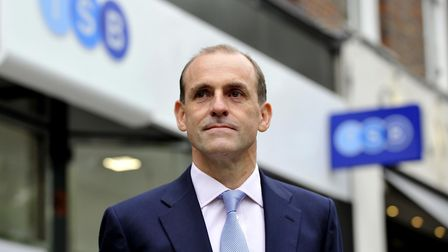 TSB chief executive Paul Pester who has said customers will not have to pay overdraft charges in Apr