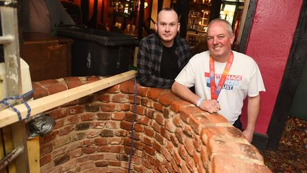 The Teenage Cancer Trust will be receiving some of the money from the well. Left to right, landlord