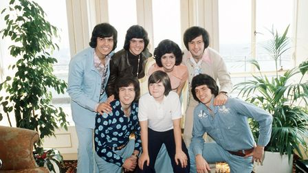 The Osmonds 1975. All smiles from the American family. Photo: PA