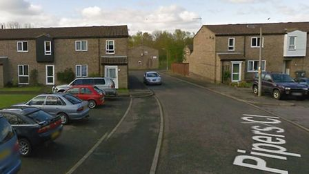 The incident happened in Pipers Close, Haverhill. Picture: GOOGLE MAPS