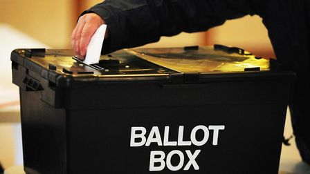 Voters have taking to polling stations in Colchester. Picture: RUI VIEIRA/PA