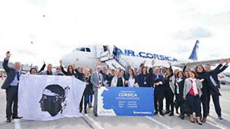 Air Corsica has launched it's First Ever Flights from London Stansted. Picture: TONY PICK PHOTOGRAPH