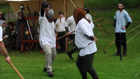 A previous Medieval Festival in Castle Park in Colchester. Picture: PHIL MORLEY
