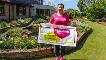 Gemma Holland has raised more than �5,000 for her charity trek - and only set off on Friday. Picture