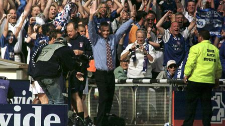 George Burley took Town to the Premier League in 2000