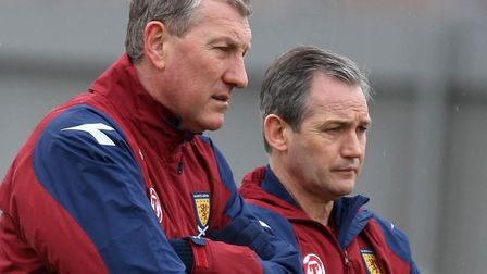George Burley and Terry Butcher worked together at Scotland - Burley as the manager, Butcher as his