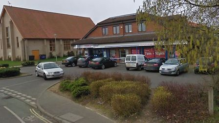 Tesco Express in Lawson Place, Bury St Edmunds. Picture: GOOGLE