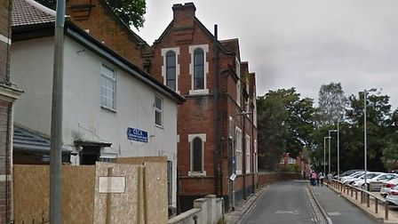The mail was sent to the Colchester Mosque in Priory Street. Picture: GOOGLE