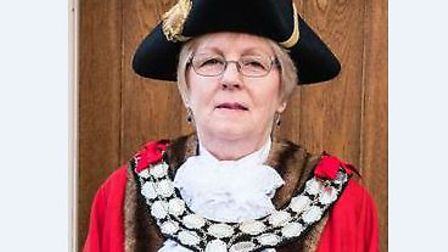 Councillor Linda Baxter, who is the new Stowmarket mayor. Picture: STOWMARKET TOWN COUNCIL