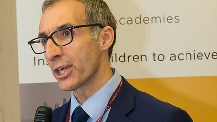Mark Vickers, chief executive of Olive Academies. Picture: GEORGE RUTTER PHOTOGRAPHY