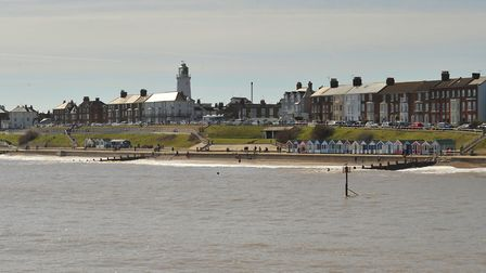 A view of Southwold from the pier. Picture: SARAH LUCY BROWN
