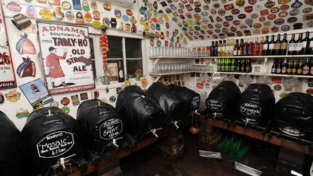 The pub is one of the few remaining examples of a taproom. Picture: PHIL MORELY