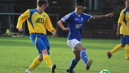 Ipswich Town Ladies knocked Sudbury Town ladies out of the first round last season. Picture: ROSS HA