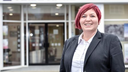 Sara Veil, of East of England Co-op Funeral Services Newmarket. Picture: JAMES FLETCHER PHOTOGRAPHY