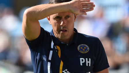 Shewsbury Town boss Paul Hurst is the favourite for the Ipswich Town job. Picture: PA SPORT