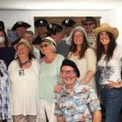Some of the 'Cash for Characters' Florida Key cast at the Wivenhoe launch party.