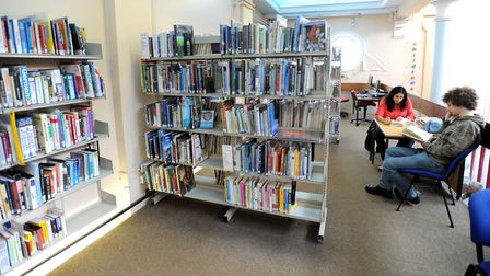 EADT - News Sudbury Library is set for a 1/2 million pound revamp. pics before the refurbishment