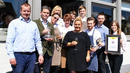 The family-run Long Melford Swan has been named Best Restaurant with Rooms by the AA. The team outs