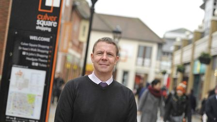 David Robertson. centre manager for Culver Square in Colchester, which is hosting a Mental Health Aw