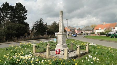The Barrow War Memorial bears the 33 names of the men lost in First World War, and eleven names from