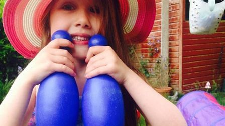Summer Grant, who died after the bouncy castle she was playing in blew away. Picture: ESSEX POLICE/P