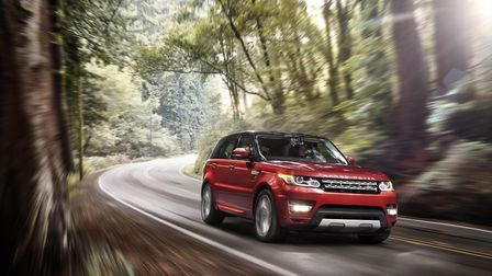 A Range Rover Sport - a black version of this vehicle was stolen from a driveway in Suffolk. Picture