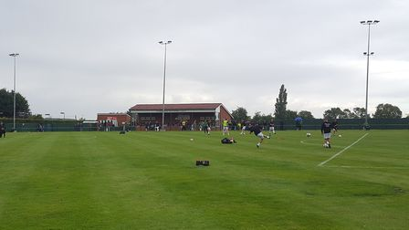 The Badingham Road sports centre, home to Framlingham Town FC, is also an option for the centre. Pic
