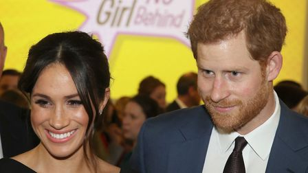 Prince Harry and Meghan Markle. Picture: CHRIS JACKSON/PA WIRE/PA IMAGES