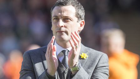 Jack Ross was a full-back for Clyde, Hartlepool, Falkirk and St Mirren. Photo: PA