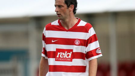 Jack Ross during his days with Hamilton