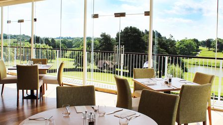 The Gallery Restaurant at Stoke by Nayland Hotel and Spa. Picture: Stoke By Nayland Hotel