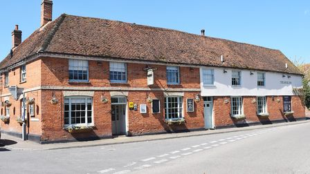 The Angel Inn, Stoke by Nayland has been put up for sale with a guide price of £1.395m