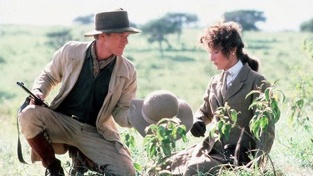 Out of Africa (1985) starring from left: Robert Redford and Meryl Streep, forms part of the Bury Fes