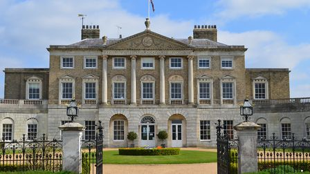 Toby Windsor and Edith Stokes are getting married at Woolverstone Hall this weekend. Picture: BETHAN