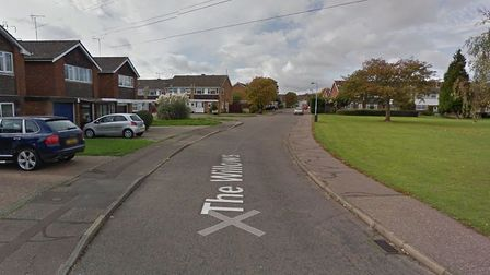 Two men in balaclavas forced their way into a house in The Willows in Colchester in the early hours