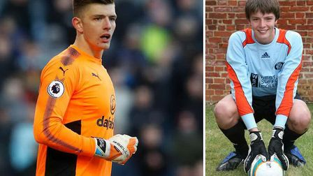 Nick Pope looks set to be joining England at the World Cup just seven years after playing for Bury T