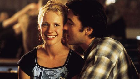 John Cusack and Iben Hjejle as his one-time girlfriend Laura in Nick Hornby's High Fidelity. Photo: