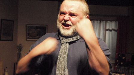 Phil Cory in the Gallery Players production of Gordon Steel's play Grow Up Grandad. Photo: Dave Bort