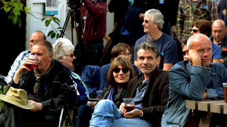 Singing the blues: Chilling out at the StowBlues Festival at the Museum of East Anglian Life. Pictur