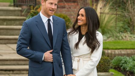 Prince Harry and Meghan Markle will get married today Picture: PA WIRE/PA IMAGES