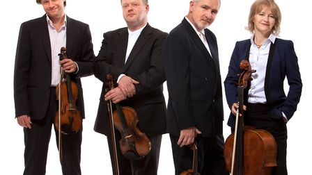 The Brodsky Quartet which is appearing the Bury Festival 2018. Photo: Bury Festival