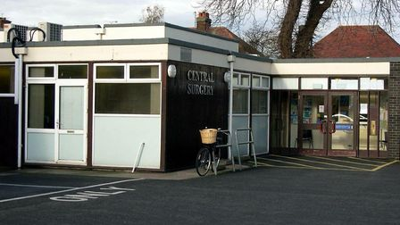 Felixstowe's Central Surgery was demolished to make way for a Wetherspoon pub. Picture: RICHARD CORN