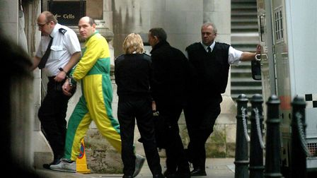 Jack Whomes arriving at the Royal Courts of Justice in London on February 22, 2006. Picture: JOHNNY