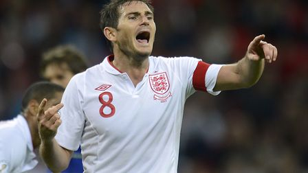 Lampard is a former England captain. Picture: PA SPORT