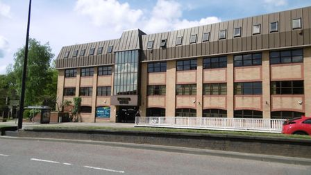 The new Ipswich customer contact centre is within Hubbard House on Civic Drive, Ipswich. Picture: DA
