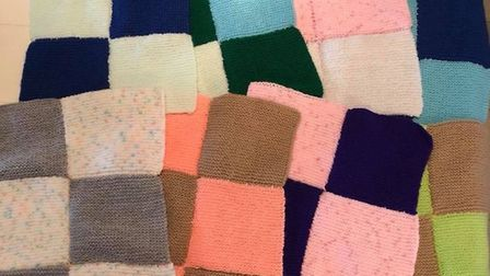 People across the country have been knitting blankets, cardigans and hats for the Warm Baby Project.