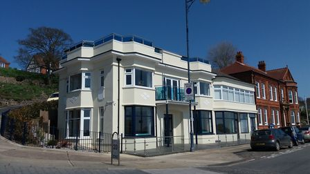 91-93 Undercliff Road, Felixstowe which is to become a new Delphine's Diner restaurant