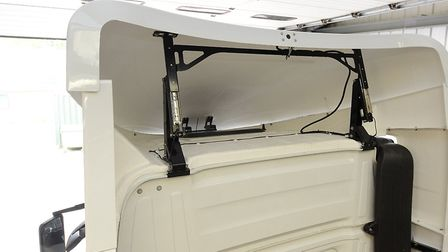 Hatcher Components now offers a range of ingenious cab conversions, designed and fitted in its Sky C