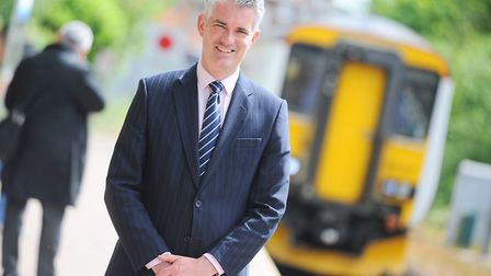 South Suffolk MP James Cartlidge has welcomed the inquiry into fares. Picture: GREGG BROWN