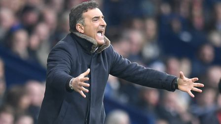 Carlos Carvalhal will leave Swansea City at the end of the season. Photo: PA